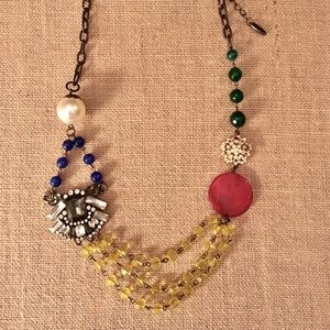 Vintage style necklace *Plunder*